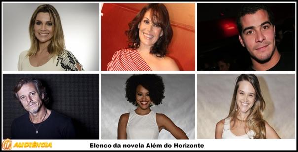 Elenco da novela Além do Horizonte